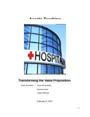 Case study value proposition